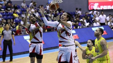 Photo of Fajardo drops 32 as San Miguel keeps five-peat drive alive with Game 3 rout of TNT