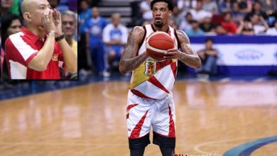 """Photo of Chris McCullough says Yeng Guiao called him """"bi*ch"""" during the game"""