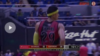 Photo of WATCH: Arwind Santos strings up 5 straight points to give SMB back the lead!