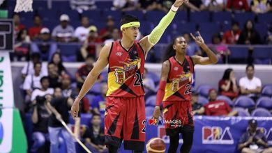 Photo of Arwind Santos says SMB will target 8th spot then beat number one team