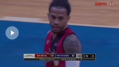 Photo of WATCH: Beermen shoot the lights out with 18 threes!