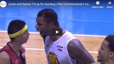 Photo of WATCH: Fireworks erupt between Arwind Santos and Terrence Jones!