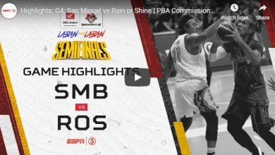 Photo of WATCH: San Miguel vs Rain or Shine Highlights [SF Game 4 | August 2, 2019]