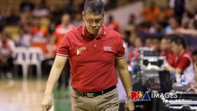 """Photo of Leo Austria on SMB's back-to-back losses: """"We are just playing, we are not competing"""""""
