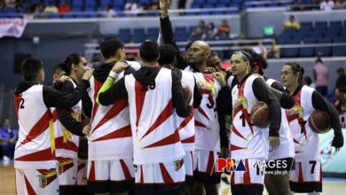 Photo of PBA mulling sanctions on four San Miguel players involved in practice brawl
