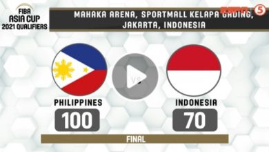 Photo of WATCH: Philippines vs Indonesia Game Highlights | FIBA Asia Cup 2021 Qualifiers