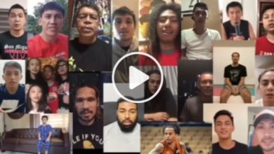 Photo of WATCH: Beermen sing 'We are the World'!