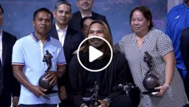 Photo of WATCH: June Mar Fajardo receives 6th PBA Most Valuable Player award!