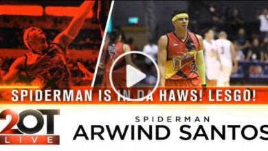 Photo of WATCH: Arwind Santos on 2OT Live!