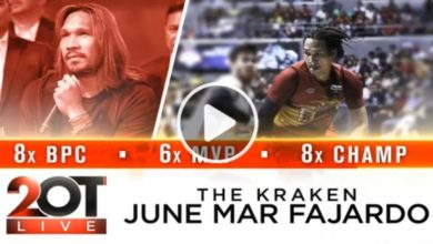 Photo of WATCH: June Mar Fajardo on 2OT Live!