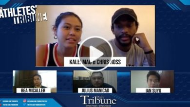 Photo of WATCH: The Athletes' Tribune with Chris Ross and Kalei Mau!