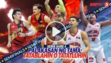 Photo of WATCH: San Miguel vs Brgy. Ginebra [SF Game 4 | 2018 Philippine Cup | March 15, 2018]