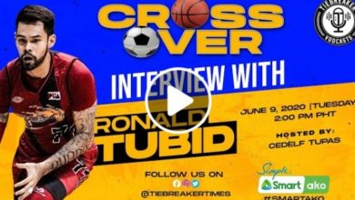 Photo of WATCH: Crossover interview with Ronald Tubid!