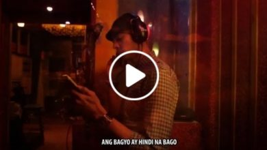 Photo of WATCH: Arwind Santos with his song 'Bagyo'!