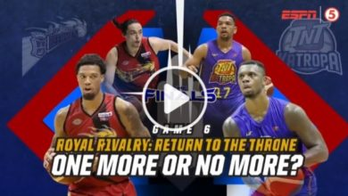 Photo of WATCH: San Miguel vs TNT [Finals Game 6 | 2019 Commissioner's Cup | August 16, 2019]