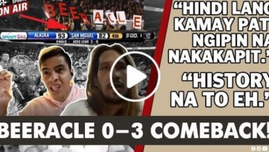 Photo of WATCH: Arwind Santos, June Mar Fajardo relive their BEERACLE experience!