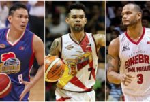 Photo of Ronald Tubid, PJ Simon, Sol Mercado head PBA free agent list