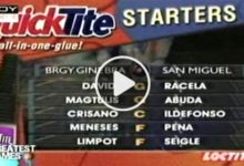 Photo of WATCH: San Miguel vs Brgy. Ginebra [Finals Game 1 | 2001 All-Filipino Cup | May 6, 2001]