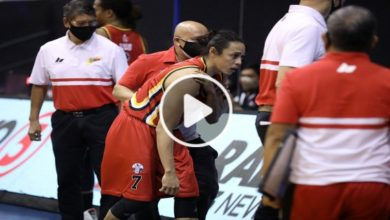 Photo of WATCH: Terrence Romeo dislocates shoulder after collision with Ryan Reyes!