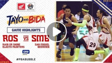 Photo of WATCH: San Miguel vs Rain or Shine Game Highlights [October 11, 2020]