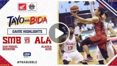 Photo of WATCH: San Miguel vs Alaska Game Highlights [October 24, 2020]
