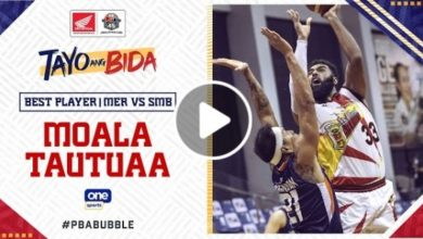 Photo of WATCH: Best Player – Moala Tautuaa [San Miguel vs Meralco | October 28, 2020]