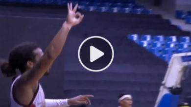 Photo of WATCH: Chris Ross drains the dagger three against the Bolts!