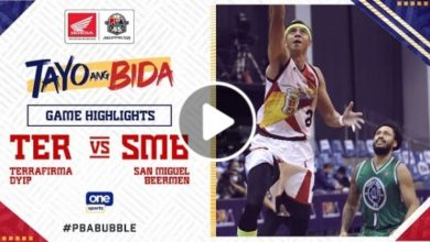 Photo of WATCH: San Miguel vs Terra Firma Game Highlights [October 19, 2020]
